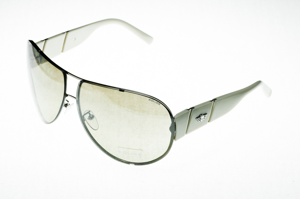 POLICE Sonnenbrille S8566C 579X Size 95 AkNHY