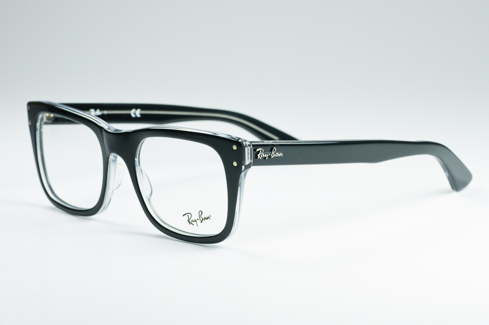 ray ban brille transparent