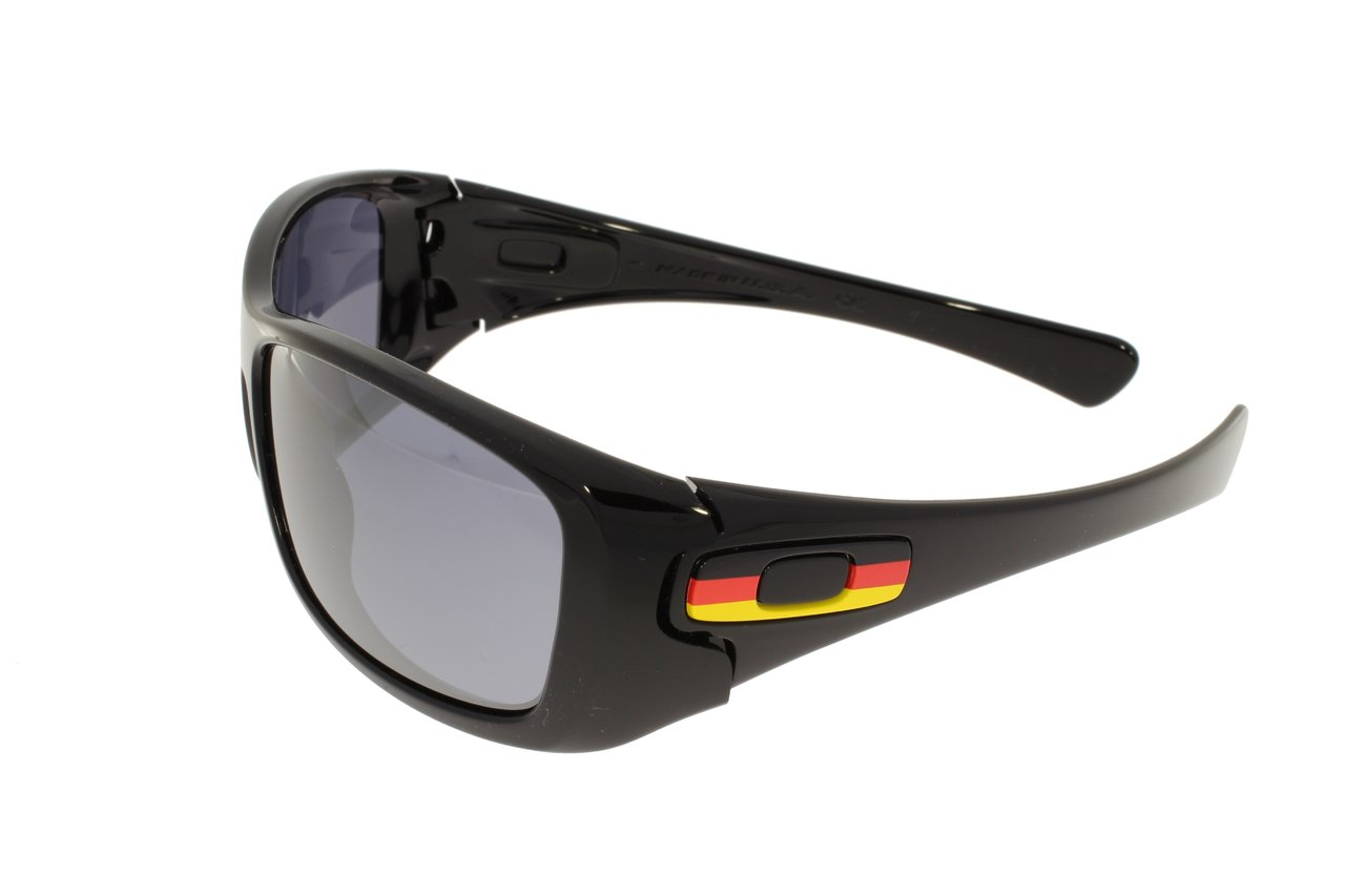 OAKLEY HIJINX Germany Polished Black/Black Iridium 24-212 q07V2ED