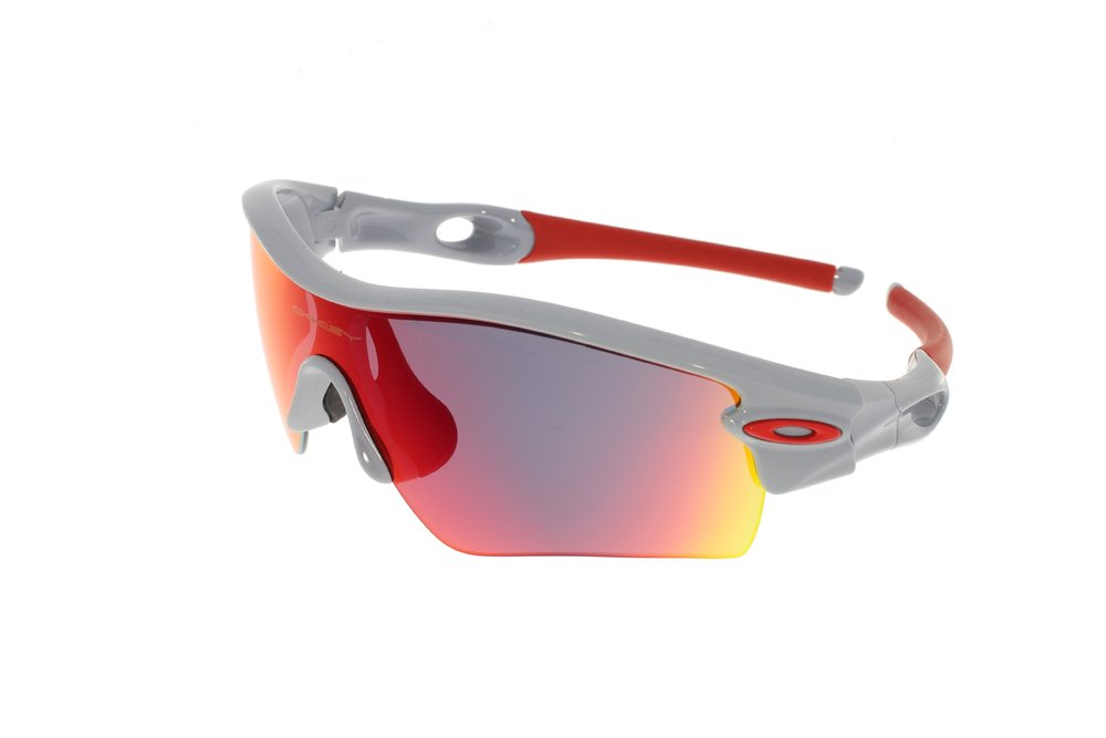 OAKLEY RADAR Polished Fog l Positive Red Iridium l Path 09-757 2868f000fb