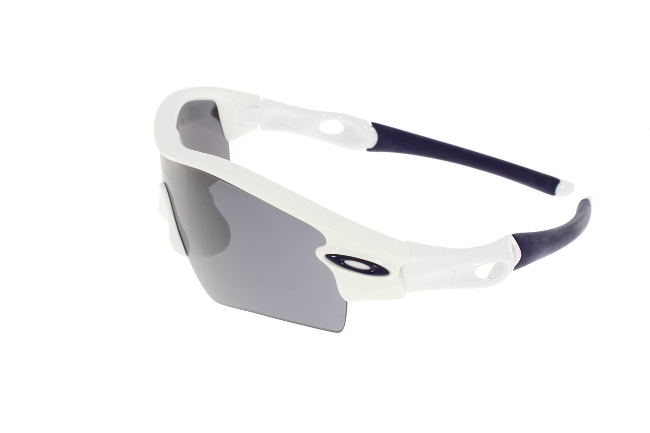 OAKLEY RADAR Polished White l Black Iridium l Path 09-758 Ylx19Zke