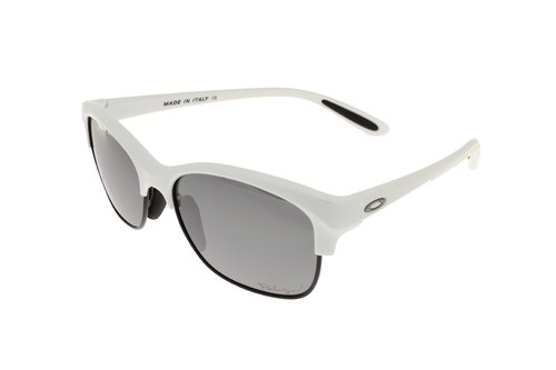 OAKLEY RSVP Perl White / Black Iridium Polarized 9024-05