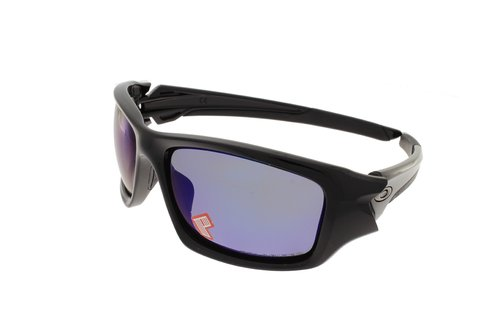 OAKLEY VALVE Polished Black / Deep Blue Iridium Polarized 9236-12