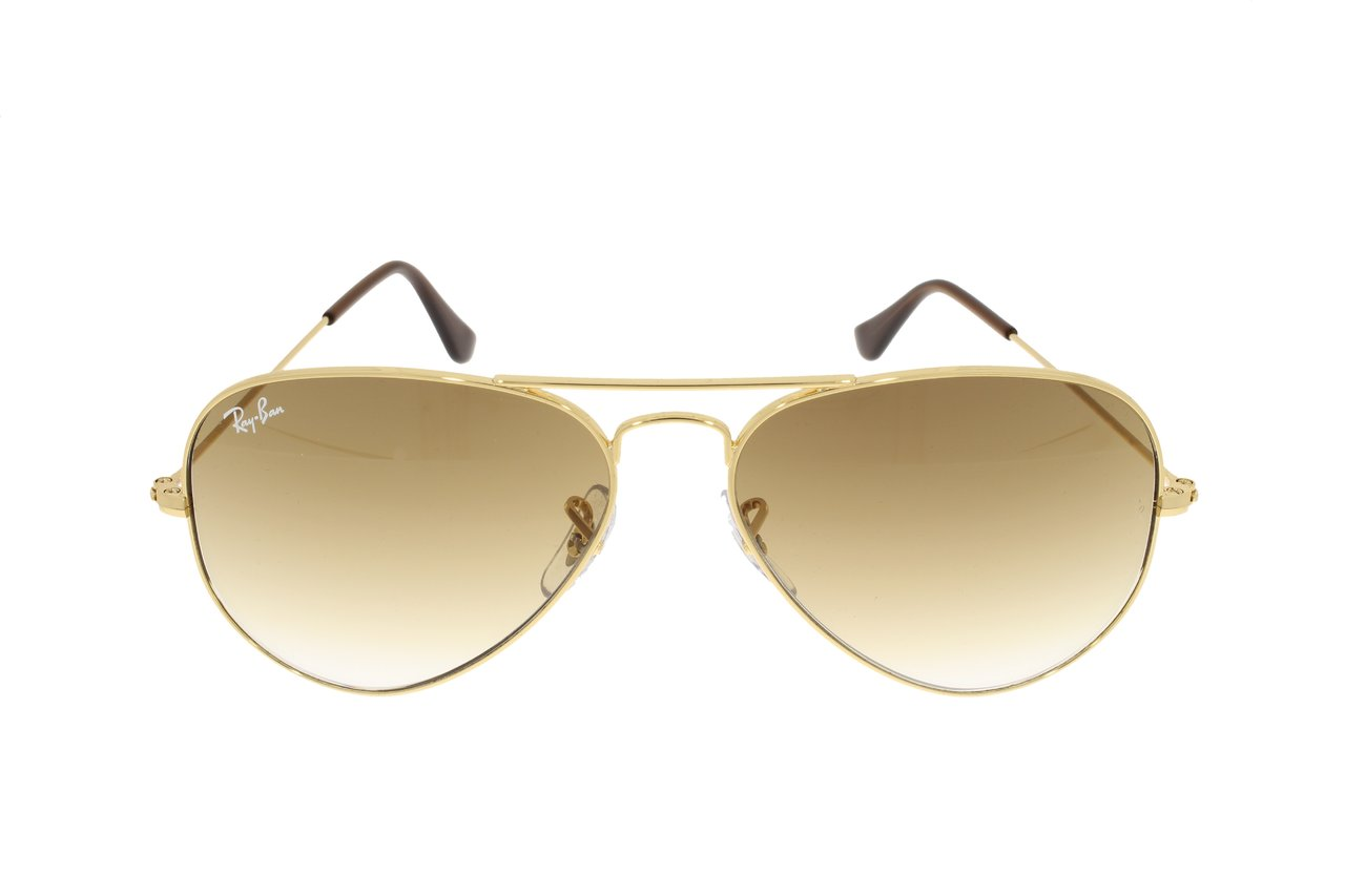 RAY-BAN Aviator arista/brown shaded RB3025 001/51 55 xdC4B2SJcT