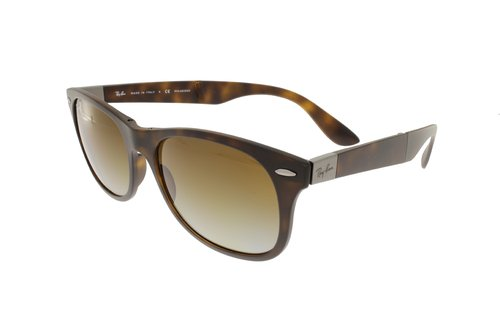 RAY-BAN Matte Havana/Grey Gradient Polarized RB4223 894/T5 55