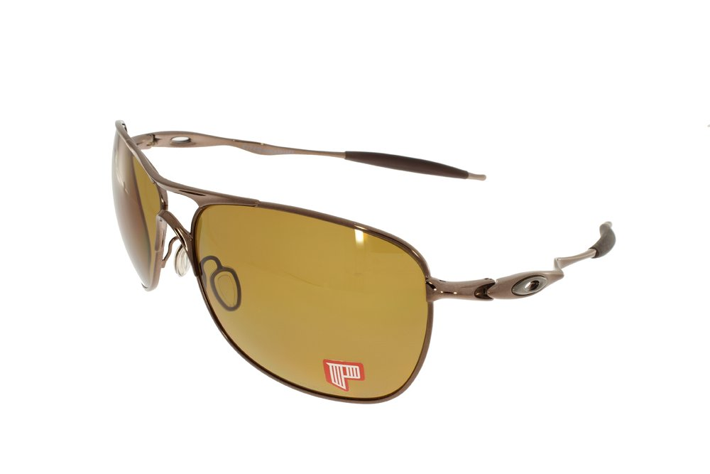 cf297dbeca6 OAKLEY Crosshair Brown Chrome   Bronze Polarized 4060-04 - www.top ...