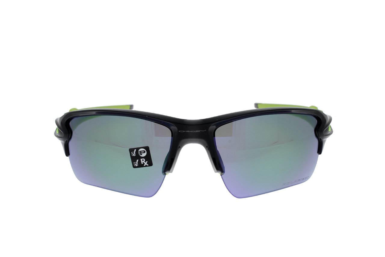 7513e43c02 OAKLEY FLAK 2.0 XL Black Ink   Jade Iridium Polarized 9188-09