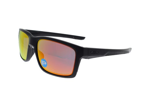 OAKLEY MAINLINK Matte Black / Ruby Iridium Polarized 9264-07
