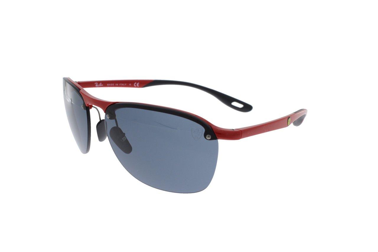 Ray Ban Scuderia Ferrari Collection Red Black Grey Rb4302m F62387 62