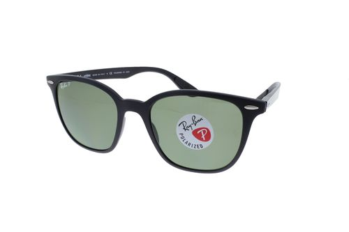 RAY-BAN LITEFORCE Black / Green Classic G-15 Polarized RB4297 601S9A 51