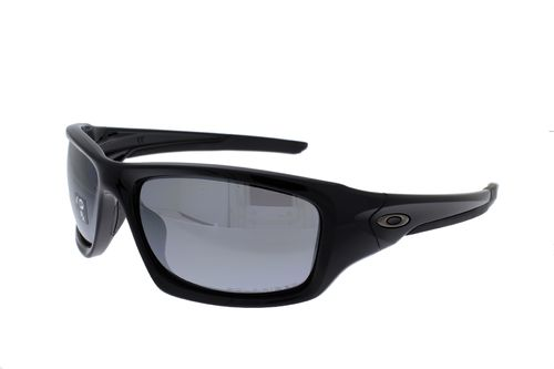 OAKLEY VALVE Polished Black / Black Iridium Polarized 12-837