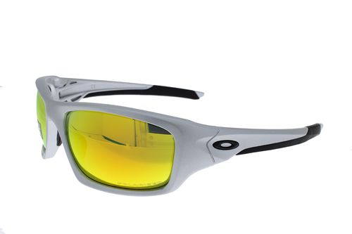 OAKLEY VALVE Silver / Fire Iridium Polarized 9236-07