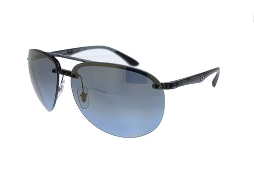 RAY-BAN Grey-Black / Blue Gradient Mirror Chromance Polarized RB4293CH 876/J0