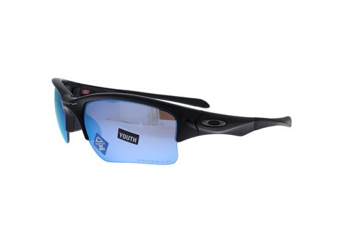 OAKLEY QUARTER JACKET Polished Black / Prizm Deep H2O Polarized 9200-16